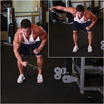 Упражнения на плечи в кроссовере