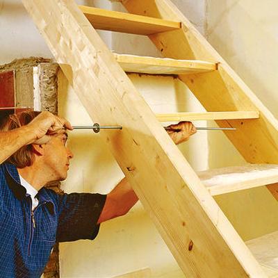 Лестница своими руками пошаговое фото
