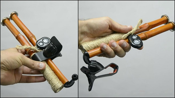 Как сделана селфи палка