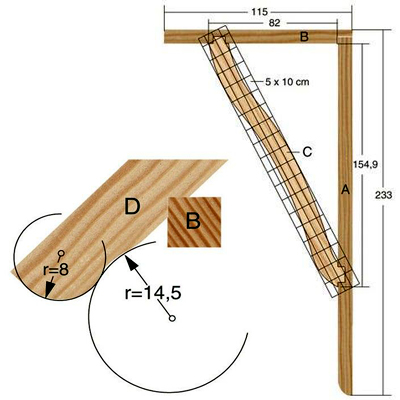 Как сделать деревянный навес над крыльцом своими руками 50