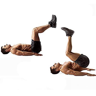 как убрать низ живота упражнение