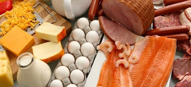 продукты содержащие высокий уровень холестерина