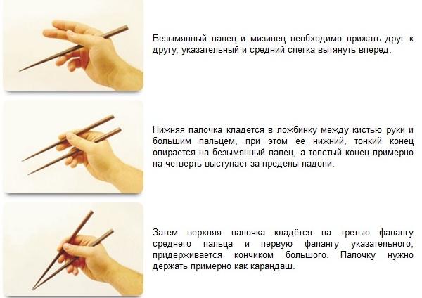 Как научиться есть китайскими палочками пошаговый рецепт