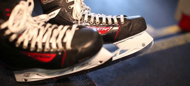 хоккейные профессиональные коньки
