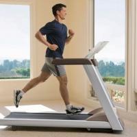 бег на дорожке для похудения утром