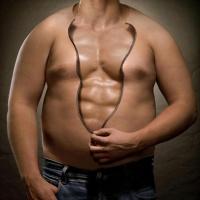 убрать живот сжечь жир