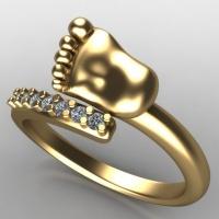 Подарок на рождение ребёнка жене из золота