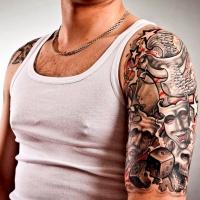 татуировки со смыслом для мужчин