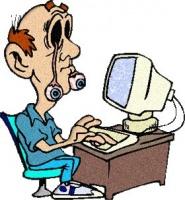 Упражнения сидя за компьютером