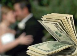 Сколько уходит денег на свадьбу