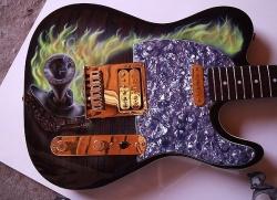 Как правильно настроить гитару при помощи тюнера