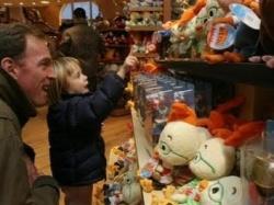 Открытие магазин детских игрушек
