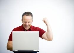 работа дома на компьютере