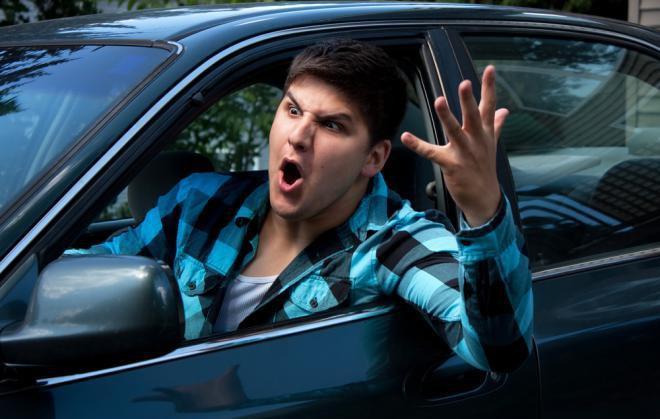 Агрессивная манера вождения