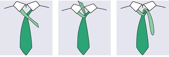 Как завязать маленький галстук